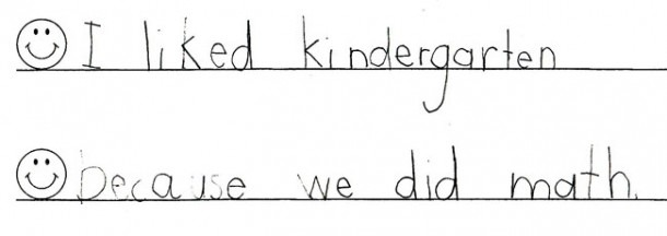 Kids Handwriting Before And After