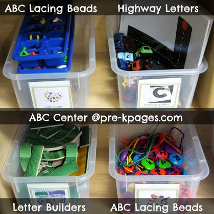 How To Set Up Your Preschool Alphabet Literacy Center