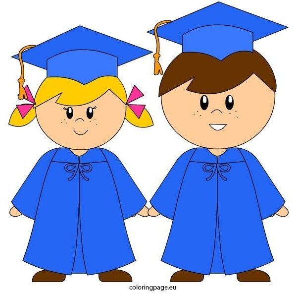 Awesome Kindergarten Graduation Clipart