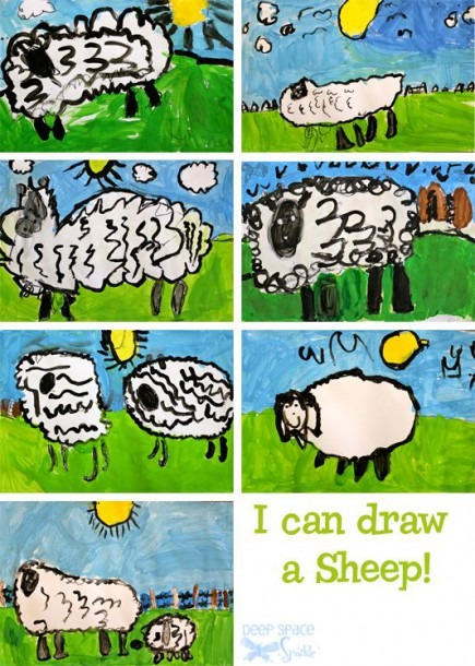 I Can Draw A Sheep