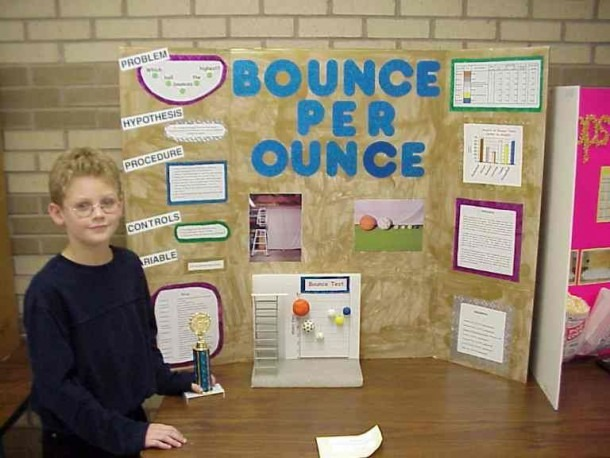 2nd Grade Science Fair Poster Pictures'