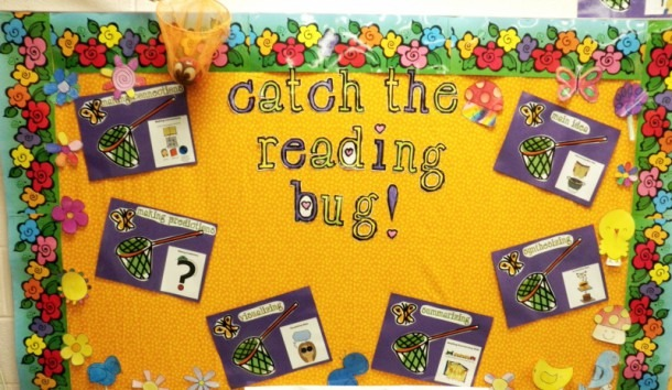 Maintain Yearlong Reading Bulletin Boards