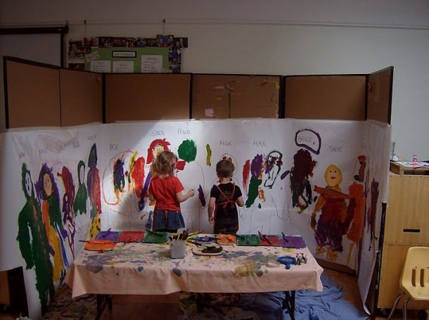 Self Portrait Mural Great Idea For Exploration Of Self! I Love The
