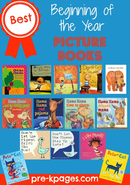 Best Beginning Of The Year Books For Pre