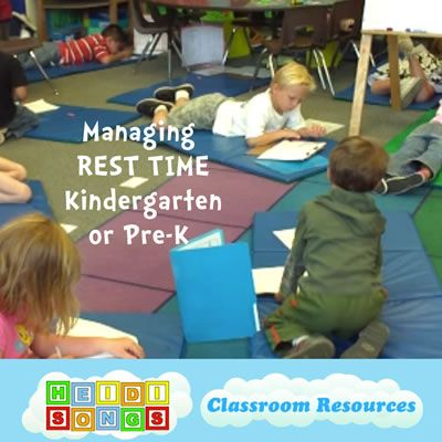 Managing Rest Time In Kindergarten Or Pre