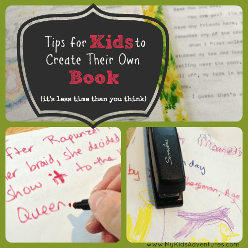 How Your Kids Can Make A Book In Under An Hour