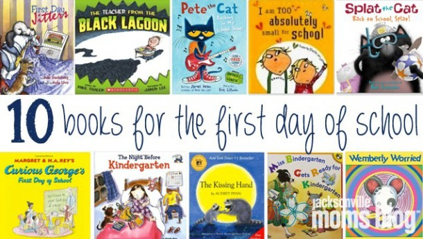 10 Books For Kids About The First Day Of School
