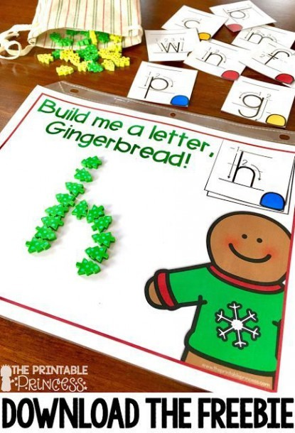 Gingerbread Activities For Kindergarten {books, Freebie, And More