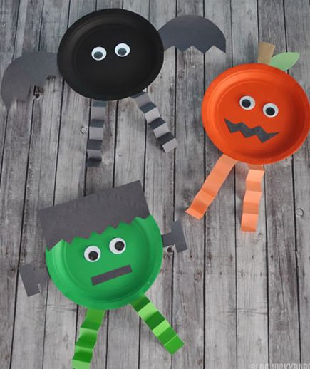 23 Easy Diy Halloween Crafts For Toddlers