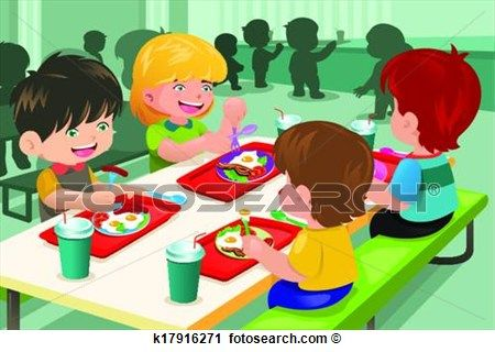 Preschool Lunchtime Clipart