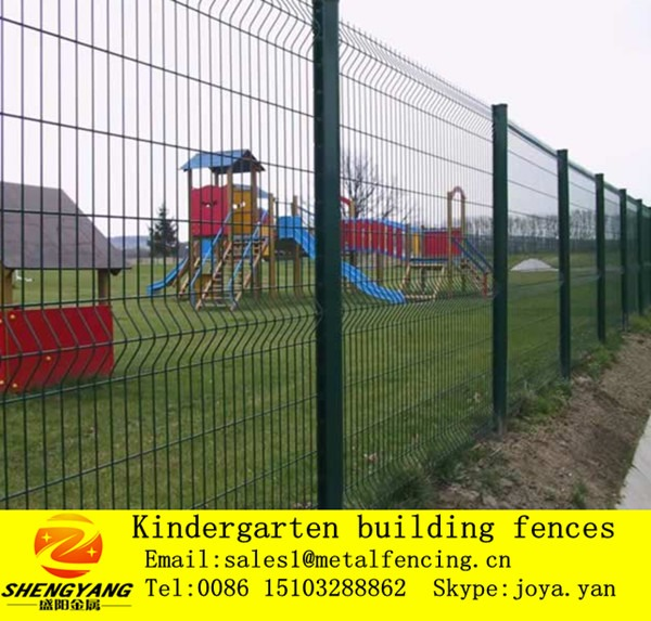Cheap Kindergarten Playground Steel Mesh Fences Supermarket Park