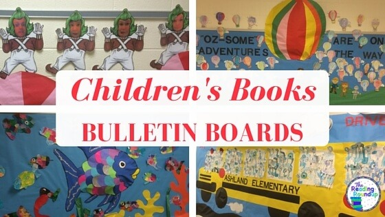 The Reading Roundup  Children's Books Bulletin Board Ideas