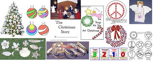 Kids Christmas Crafts, Activities, And Lessons