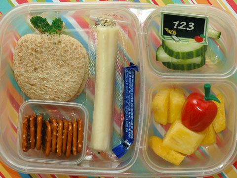 Think Outside The Lunch Box  7 Adorable School Lunches