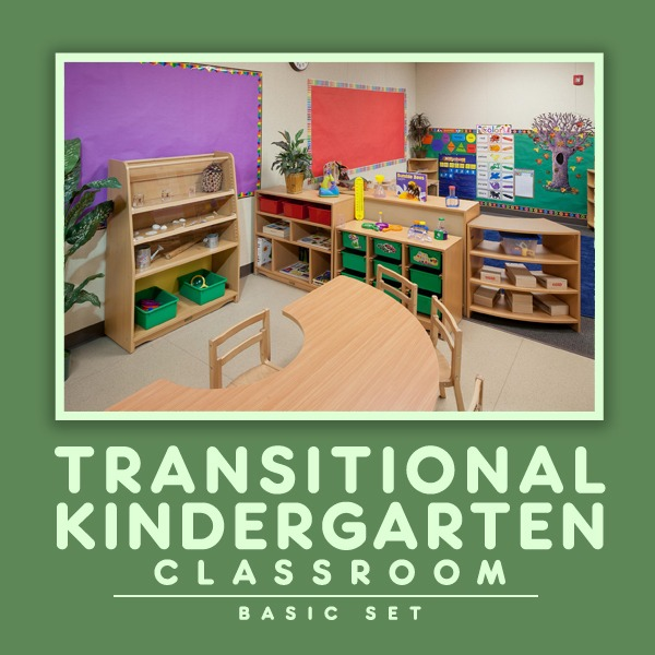 Kohburg Transitional Kindergarten Classroom Basic Set