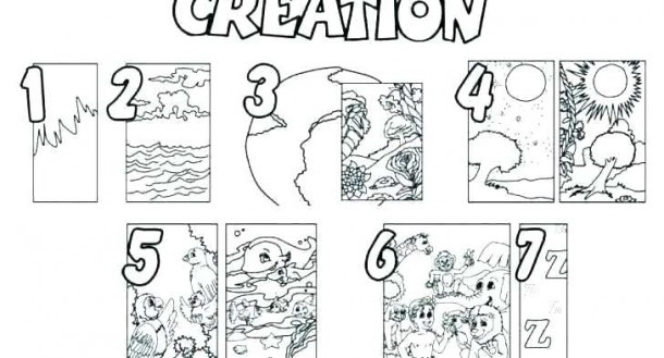 Creation Coloring Pages For Sunday School – Danquahinstitute Org