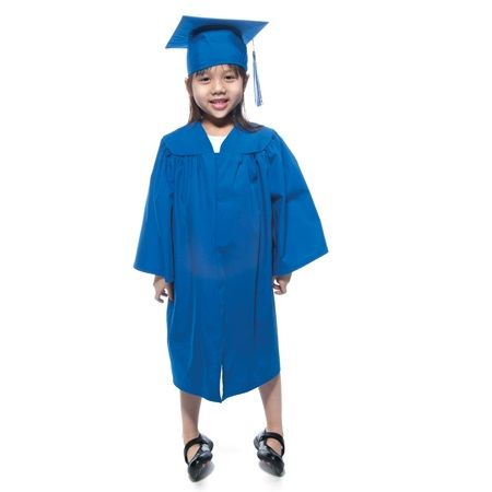 Kindergarten Matte Graduation Gown