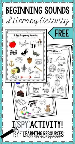 I Spy Beginning Sounds