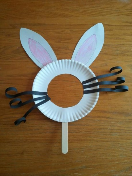 5 Adorable Bunny Masks For Easter