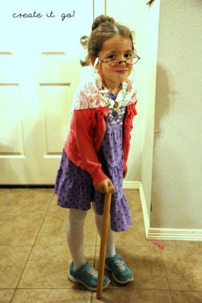 100th Day Of School; Dress Up Like You Are A 100 Years Old Day