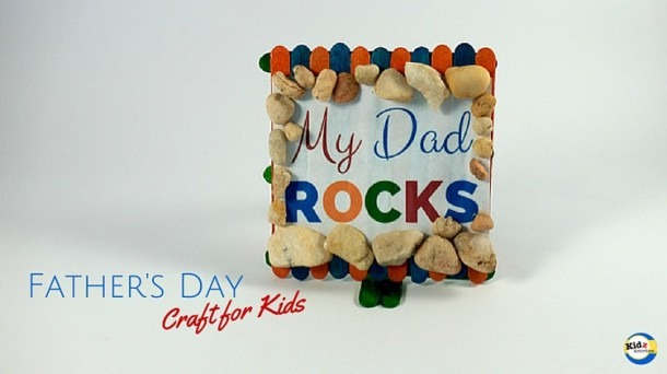 Dad Rocks Father's Day Craft