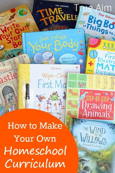 Make Your Own Homeschool Curriculum With Usborne Books
