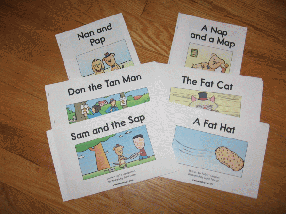 Decodable Books For Short A
