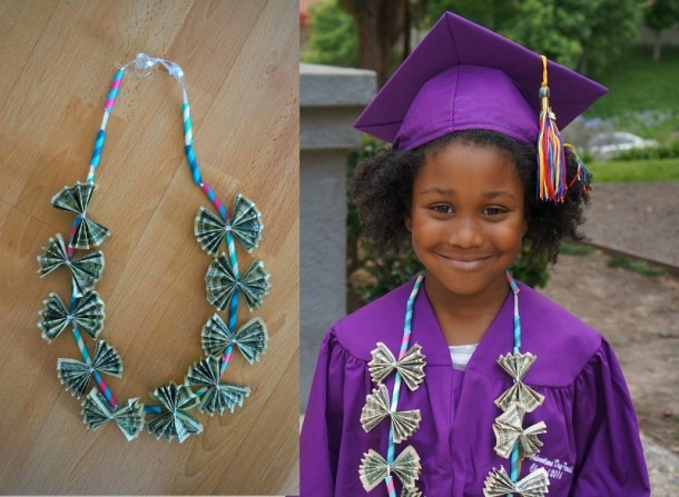 Diy Graduation Gifts  Learn How To Make A Money Lei Tutorial