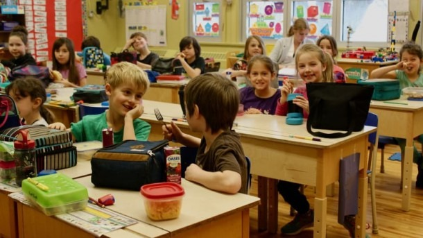 Drummondville's Only English Elementary School Full To Bursting