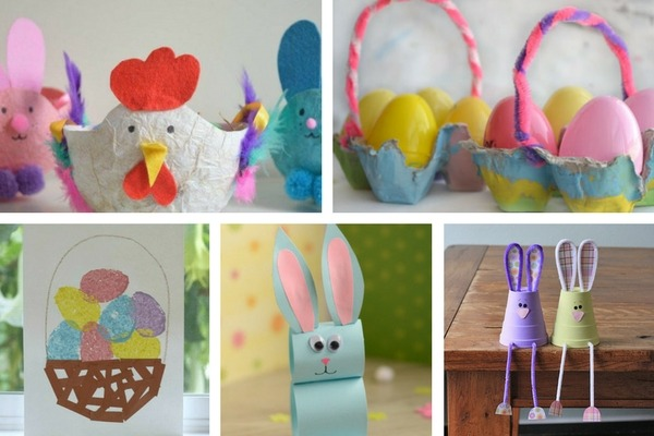 20+ Easter Crafts For Preschoolers