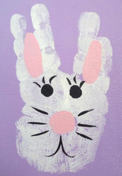 Wonderful Diy Easy And Cute Easter Hand & Foot Print Art