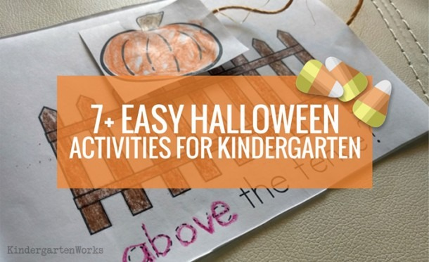 7+ Easy Halloween Activities For Kindergarten – Kindergartenworks