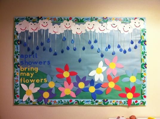 Kindergarten May Bulletin Board Ideas