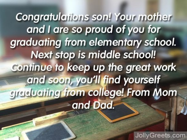 What To Write In An Elementary Graduation Card – Elementary