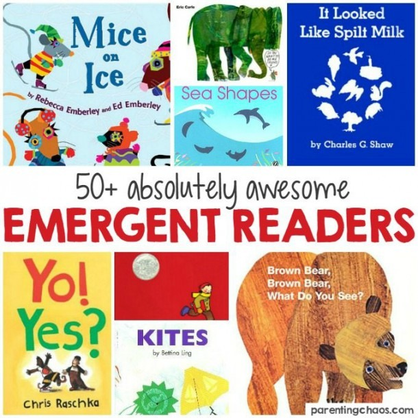 Awesome Emergent Readers For Kindergarten ⋆ Parenting Chaos