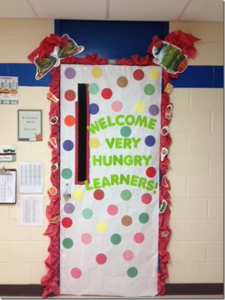 65 Awesome Classroom Doors For Back