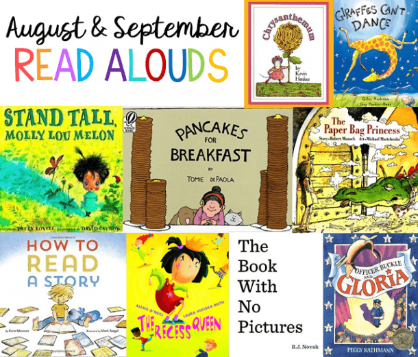 August And September Read Alouds