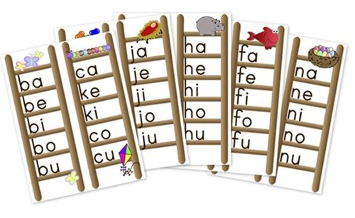 These Are Great Printables For Phonics  I Printed, Folded A Page