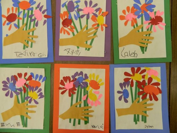 Picasso's Flowers Craft