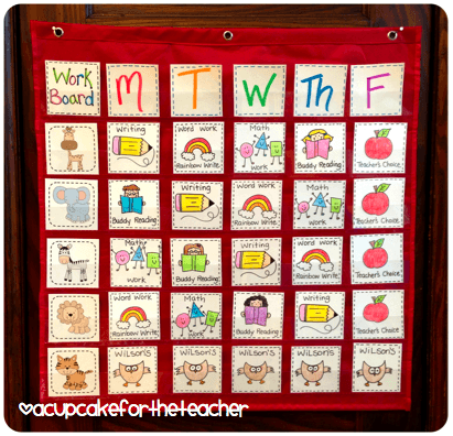 Organize Your Centers Or Daily 5 If You Don't Let Kids Do The