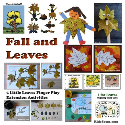 Fall, Autumn, And Leaves Preschool Activities And Crafts