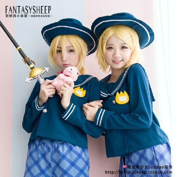 Fantasysheep Women's Japanese Kindergarten School Uniform Cosplay