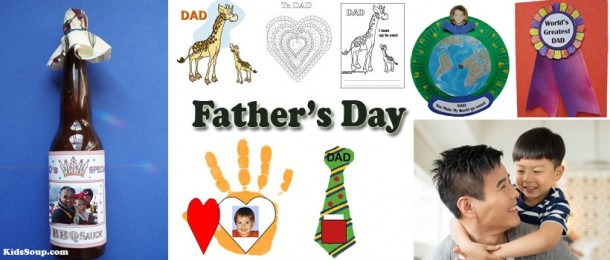 Father's Day Crafts, Activities, Games, And Printables