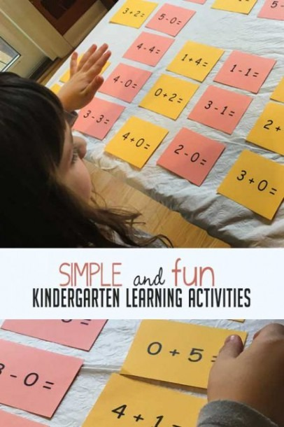 Simple And Fun Kindergarten Learning Activities