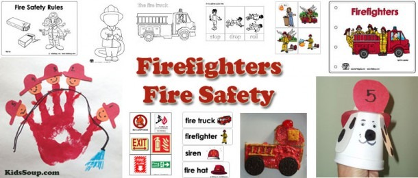 Firefighter And Fire Safety Activities, Lessons, And Crafts