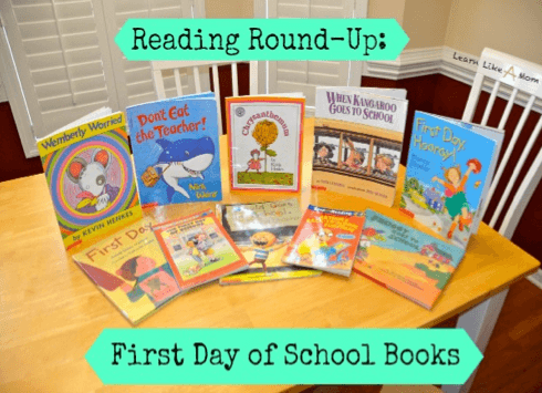 10 First Day Of School Books