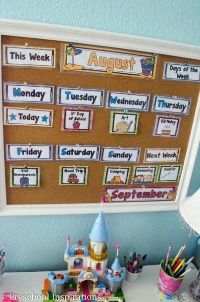 The Perfect First Calendar For The Home Or Classroom