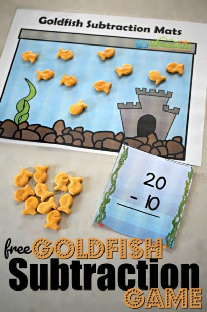Goldfish Subtraction Game