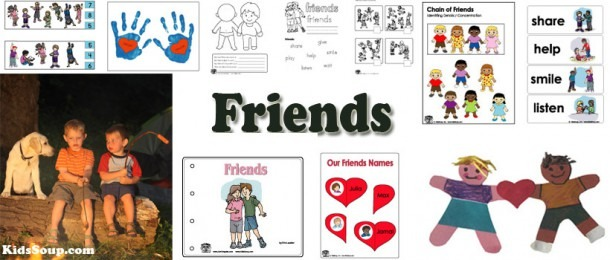 Friendship Crafts, Activities, Games, And Printables