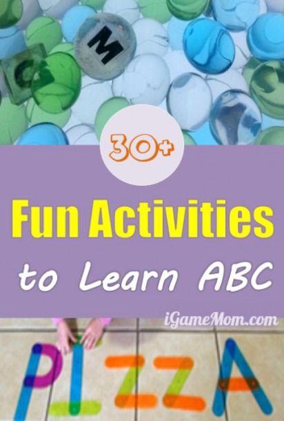 30+ Activity And Craft Ideas To Learn Abc